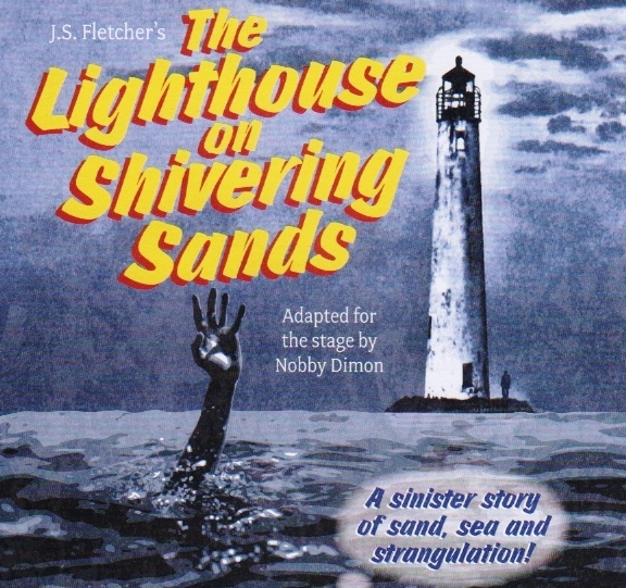 The Lighthouse on Shivering Sands artwork featuring a hand coming out of the sea and a lighthouse
