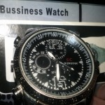 S C High & Tide Camera 'Bussiness' Watch
