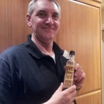 Daddy John's chocolate vodka