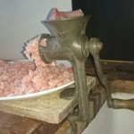 Mincer and recipe