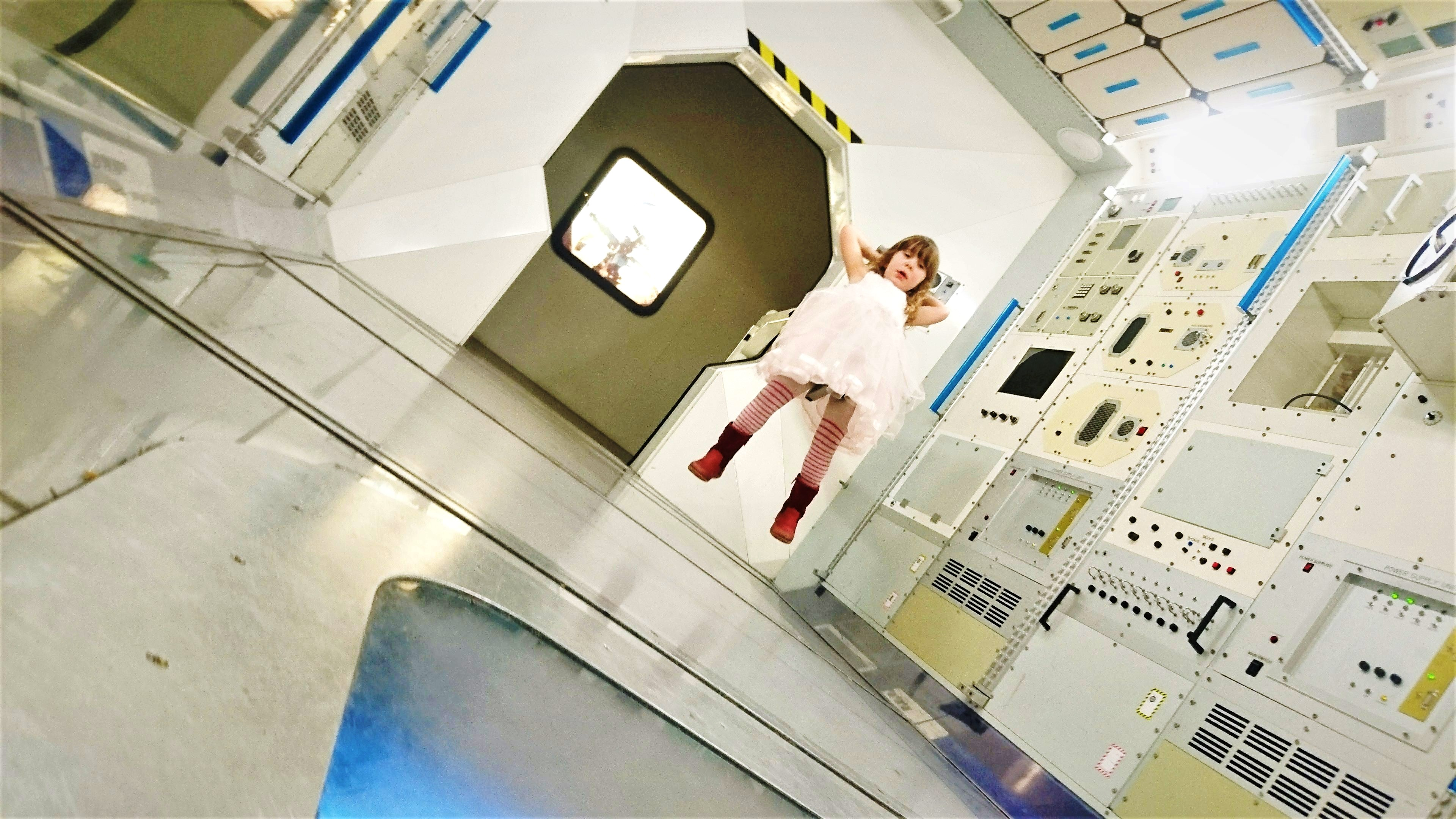 Annie in a Space Station