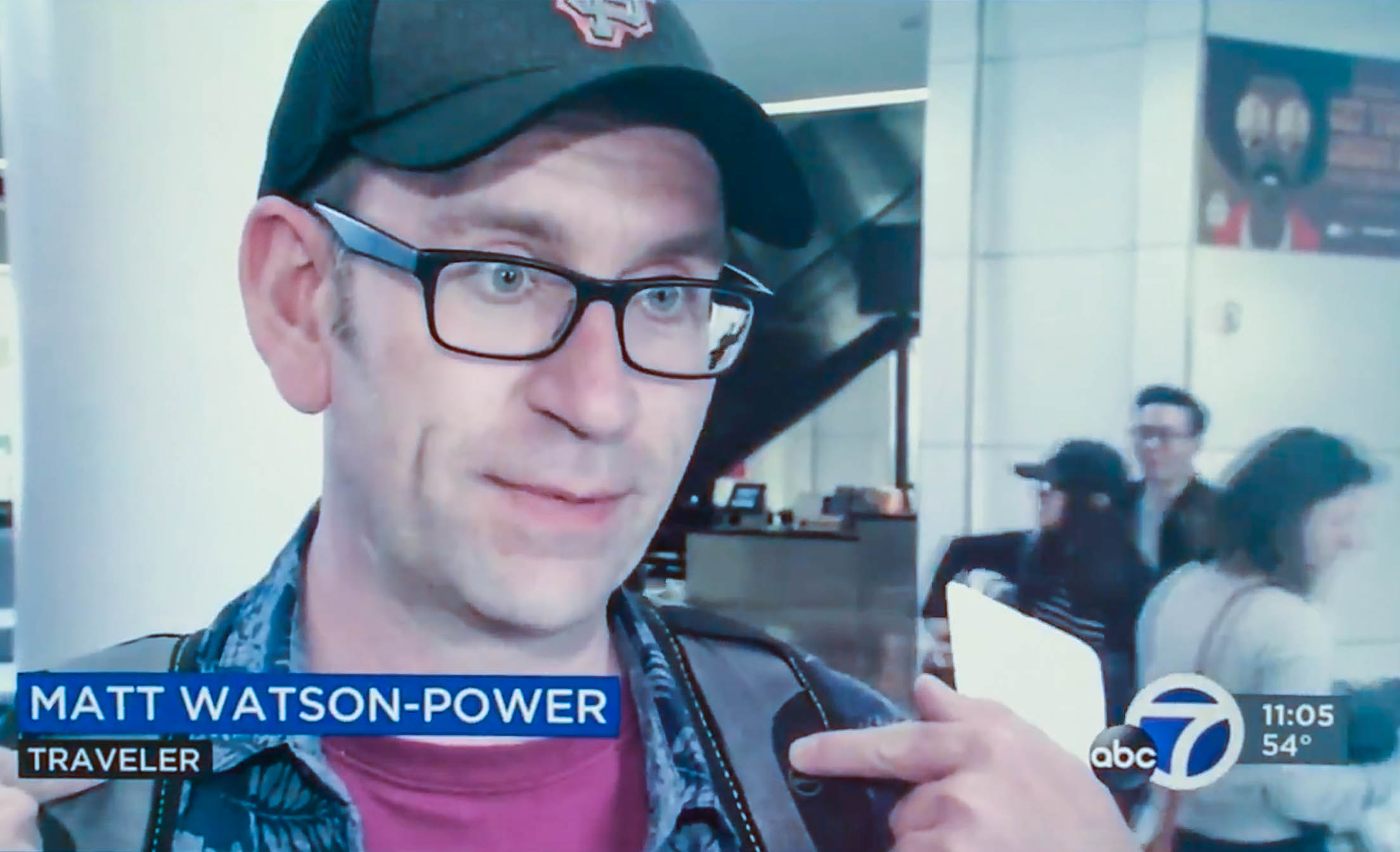 Matt Watson-Power on ABC News