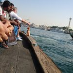 boat ride across dubai creek